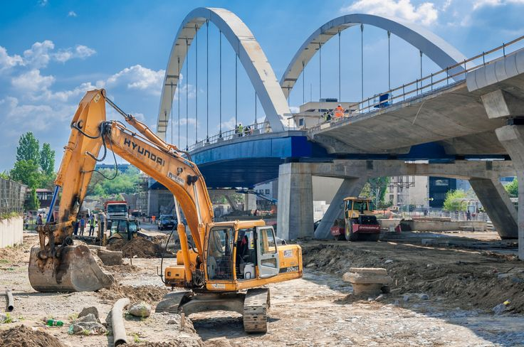 Bucharest, Oct. 30, 2010  - Basarab bridge construction site by Mihai O on 500px