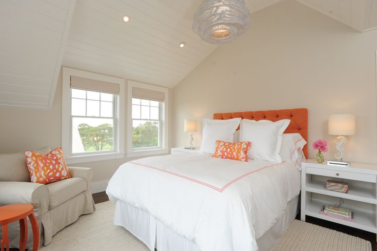Eclectic Cottage Master Bedroom