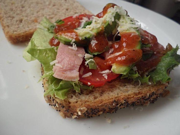 Hearty Bacon Lettuce Tomato Sandwich