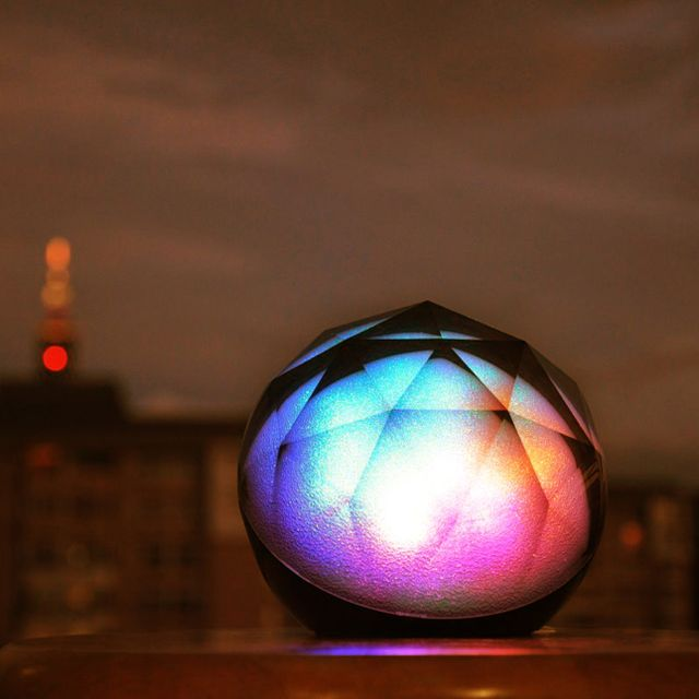 Fancy - Color Changing Wireless Speaker by Yantouch. Cool!!