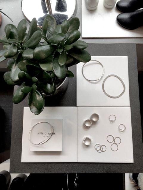 Jewellery designed by Astrid Björk.