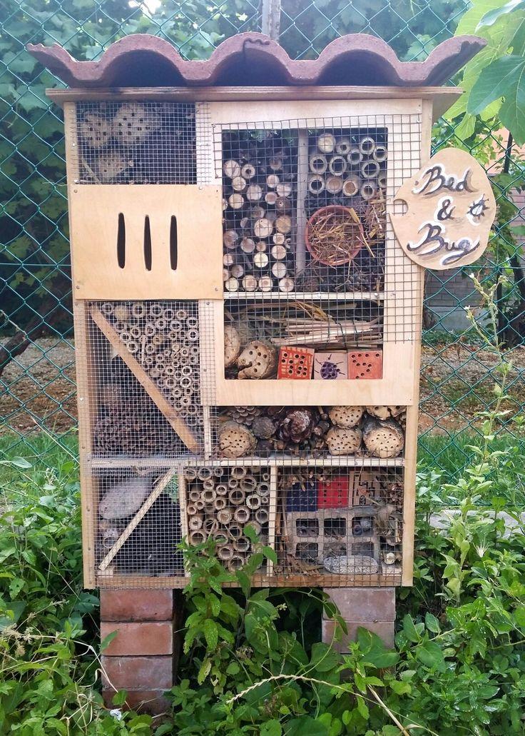 Insect Hotel al Centro Gioco, Natura e Creatività  La Lucertola, Ravenna 2017