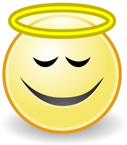 Animated Smiley Face Clip Art | Face Angel clip art | smiley and ...