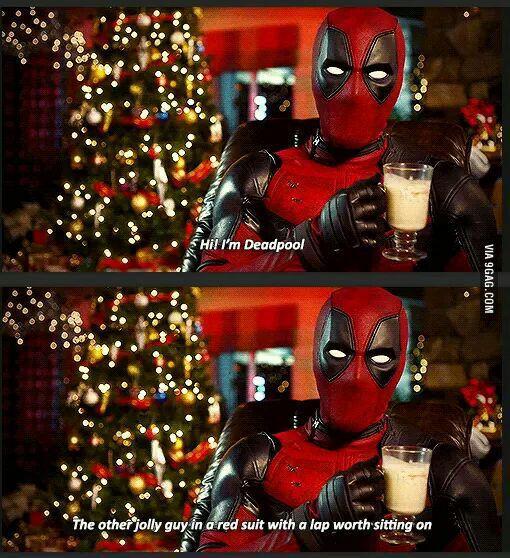 Just Deadpool being Deadpool - 9GAG