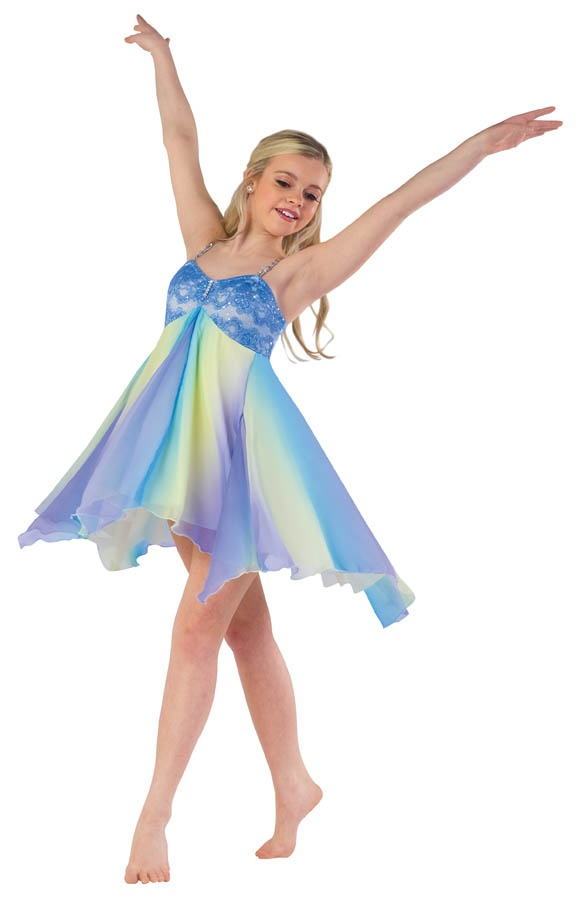 Sarah's lyrical solo costume