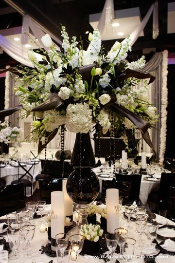 63 Best Black White And Silver Wedding Ideas Images On