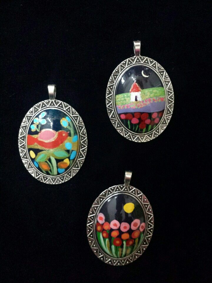 Ciondoli Painted Stones di Rosaria Gagliardi
