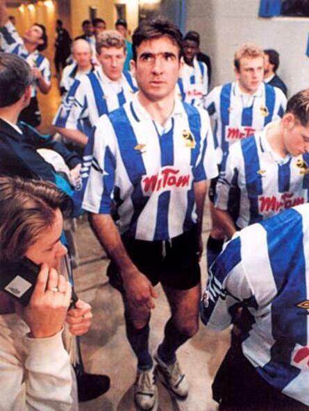 Eric Cantona on trial at Hillsborough