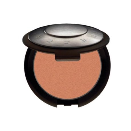 BECCA Mineral Blush in Wild Honey $32 (a peachy nude with sheen, but no shimmer)