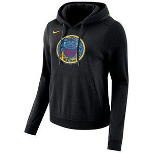 7e6b65729fd Golden State Warriors Nike Women's Chinese Heritage 'The Bay' City Edition  Club Fleece Pullover Hoodie - Black