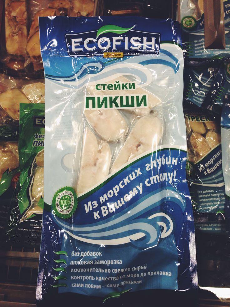 Гринвошинг добрался до рыбы. Никаких экологических маркировок, только сомнительная печать с надписью eco-friendly.