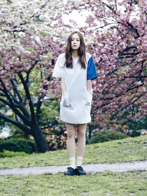 f(x) Krystal - Oh Boy! Magazine June Issue '15