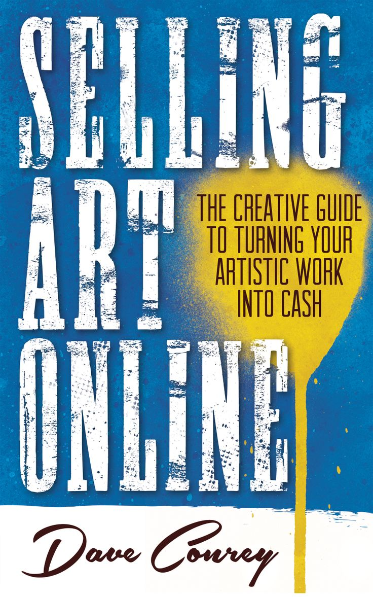 everyone should get to know Dave-- plain and simple....Selling Art Online - The Creative Guide to Turning Your Artistic Work Into Cash www.freshrag.com/sao