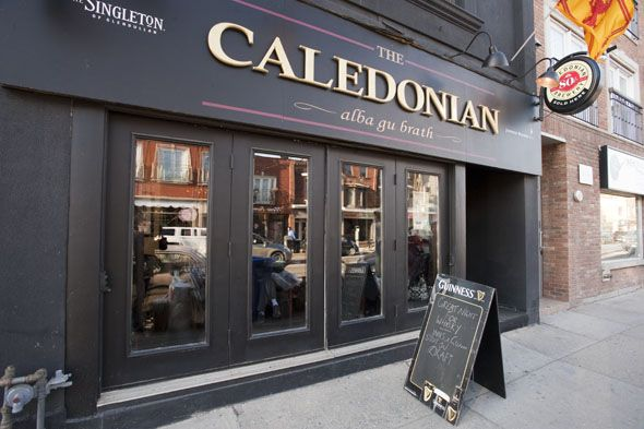 Caledonian Toronto- great place to try Whisky!  They have nights during the week where they have free testers!!!