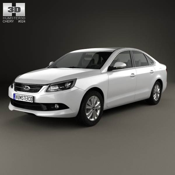 Chery Arrizo 7 2013 3d model from humster3d.com. Price: $75