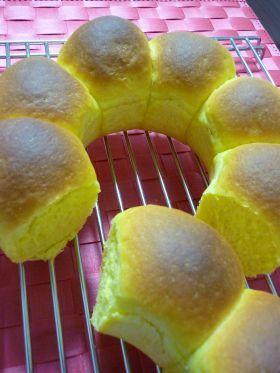 「ふわふわカボチャパン」katumi | お菓子・パンのレシピや作り方【corecle*コレクル】