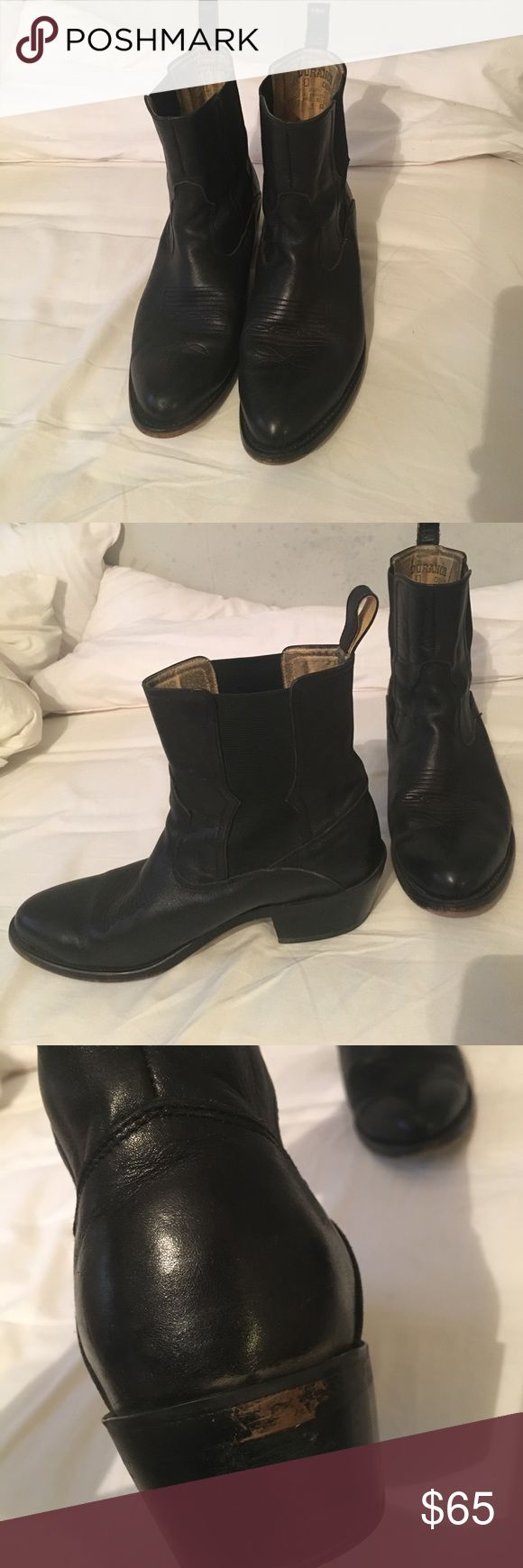 Durango short boots Durango size 8 1/2 men's boot. Great used condition extremely comfortable. Durango Shoes Cowboy & Western Boots