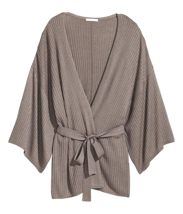 Ribbed Cardigan | Warm in H&M