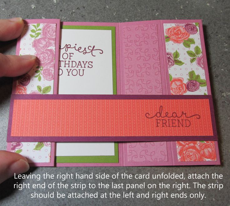 Bridge fold card tutorial free quick cardmaking tutorials stampin up Lyssa