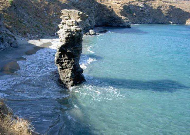 #Grias #Pidima #beach, #Andros, #Greece | #heliadesvillas | http://www.heliadesvillas.com/