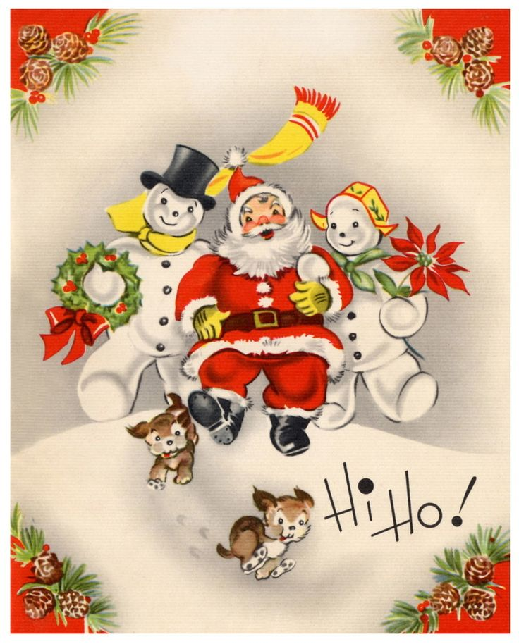 1000 best vintage victorian christmas graphics images on pinterest vintage christmas card santa frosty and the mrs m4hsunfo