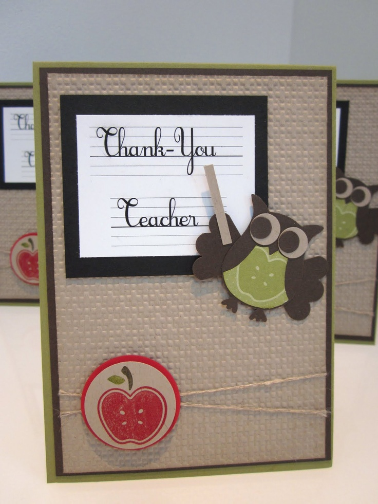 17 best images about craft cards teachers day on pinterest for Thank you crafts for teachers