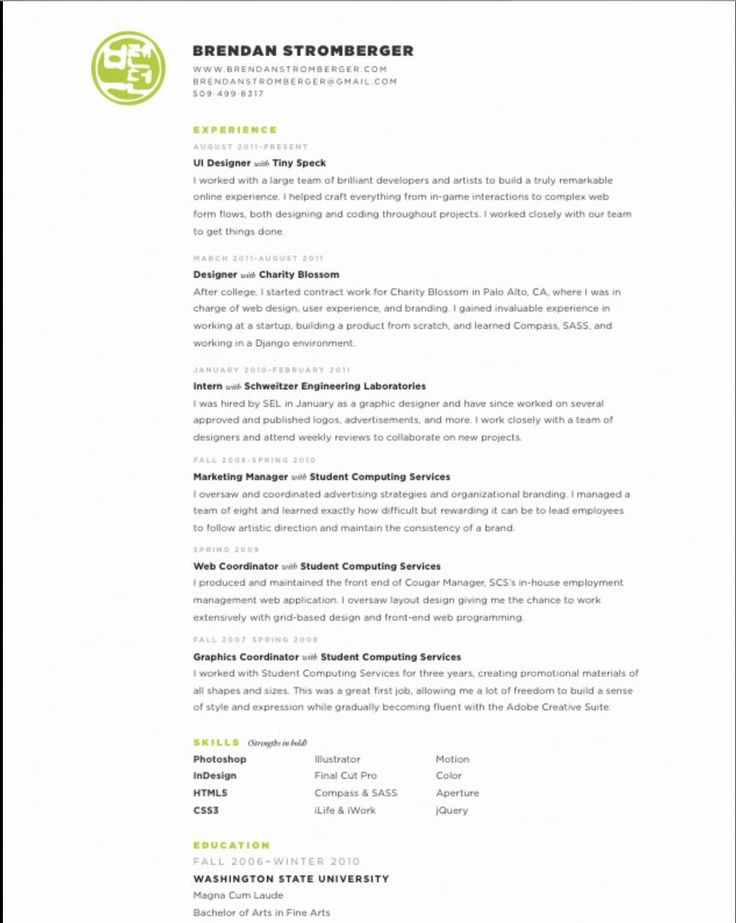 32 best CV images on Pinterest Resume design, Design resume - art director resume sample