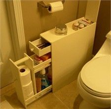 Bathroom Cabinet for Narrow Spaces