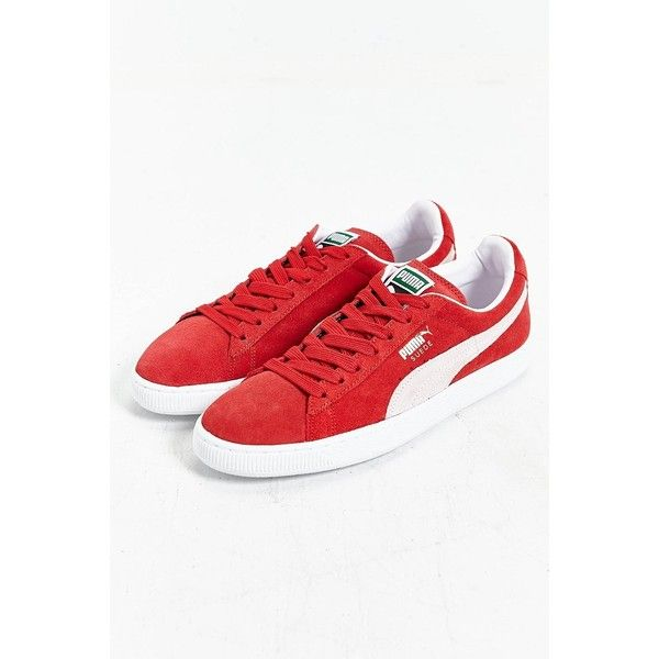 Puma Suede Classic + Sneaker ($59) ❤ liked on Polyvore featuring shoes,  sneakers