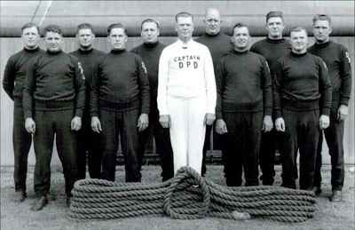 1954 Detroit Police Department International Tug-of-War Team