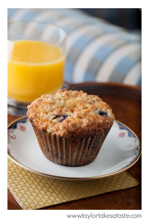 These Jumbo sized blueberry muffins are the perfect item for fans with a big appetite on game day!