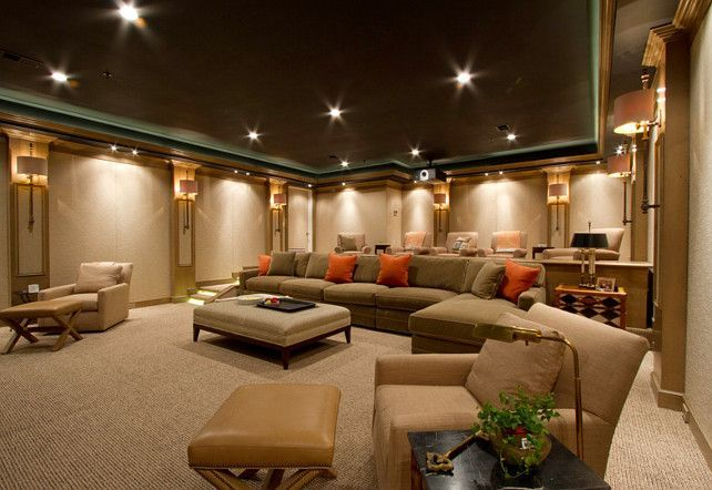 Home Theater Design Home Theater Carpeting Home Theater Layout