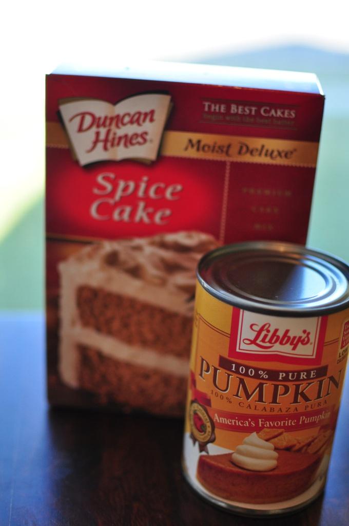 2 Ingredient Pumpkin Muffins   Meg's Everyday Indulgence