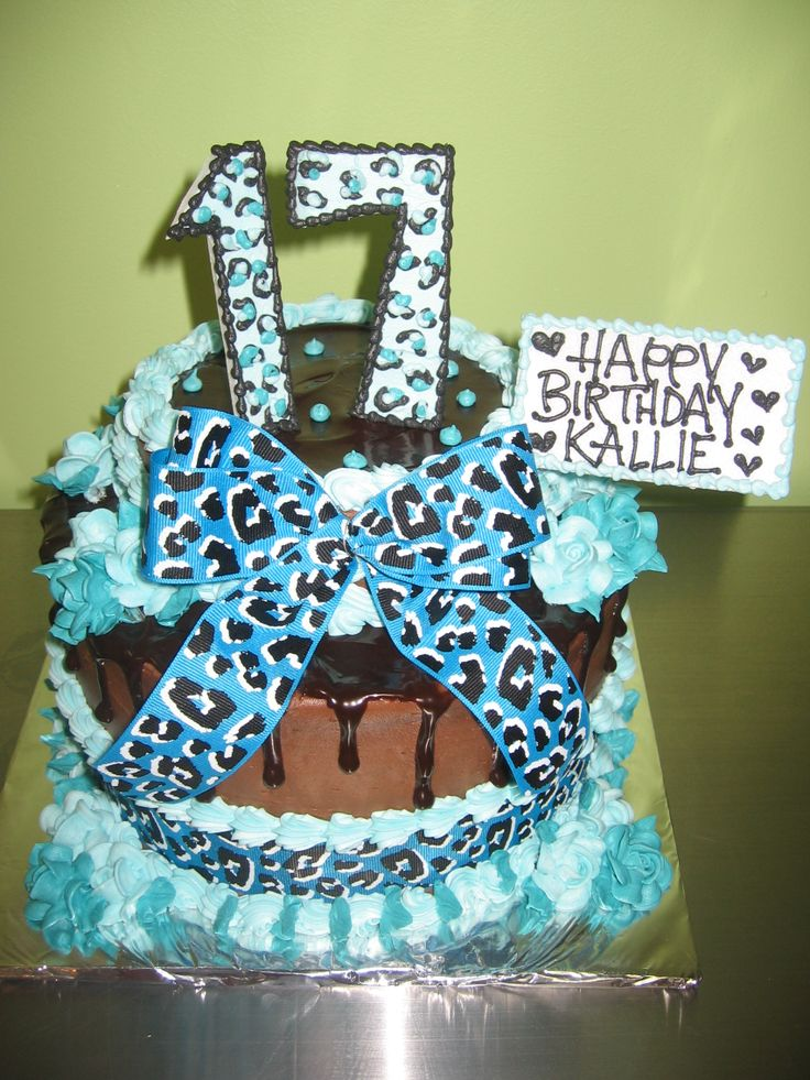 17 best ideas about 17th birthday cakes on pinterest for 17th birthday decoration ideas