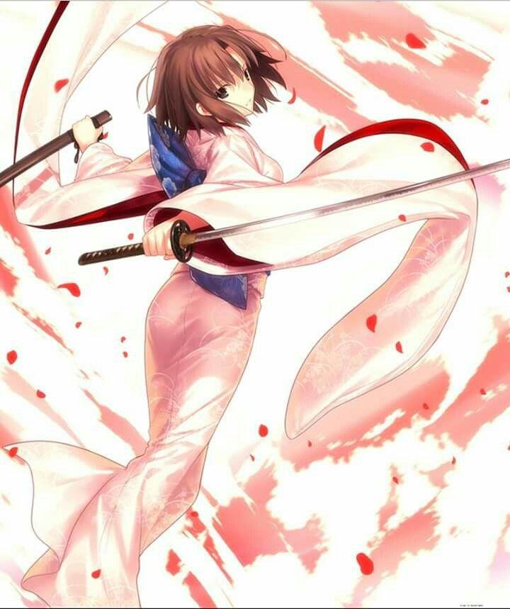 Shiki rosa katana 01