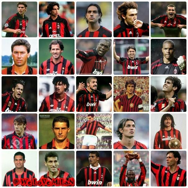 Milan  legends