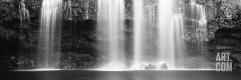 Waterfall in a Forest, Llanos De Cortez Waterfall, Guanacaste Province, Costa Rica Photographic Print at Art.com