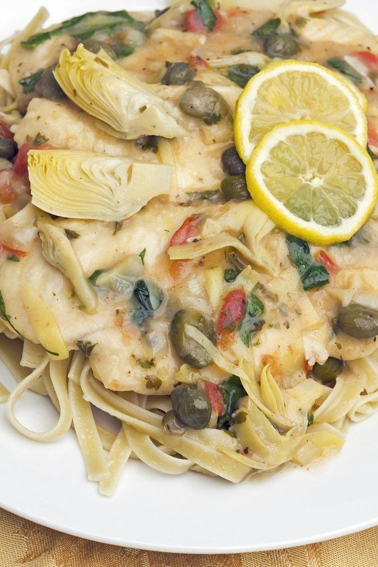 Chicken piccata with artichokes dinner recipe with italian