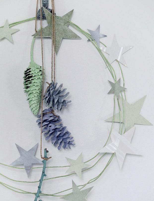DIY: Lav selv fin pynt med kogler og stjerner | Femina