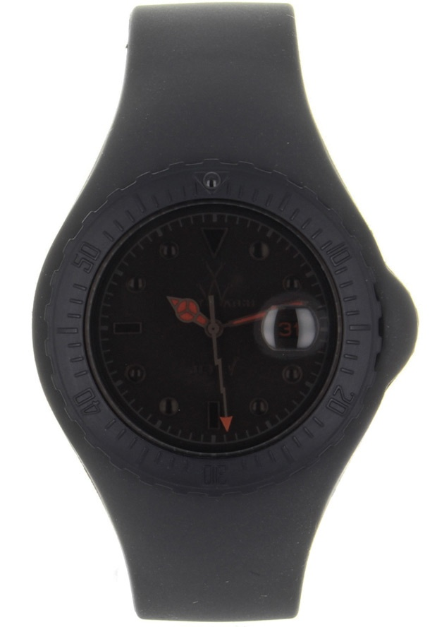 Price:$92.50 #watches ToyWatch JYA04BK, Plastic case, Silicone Strap, Black dial, Quartz movement, Scratch-resistant mineral, Water resistant mineral, Water resistant up to 5 ATM - 50 meters - 165 feet