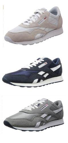Reebok Men s CL NYLON Classic Sneaker  sneakers  680a69f70