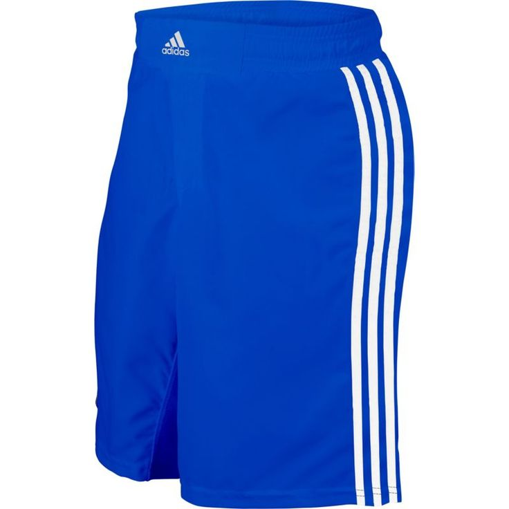 adidas Adult Wrestling Grappling Shorts, Size: Medium, Blue