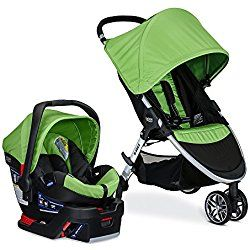 Britax 2017 B-Agile/B-Safe 35 Travel System, Meadow Green