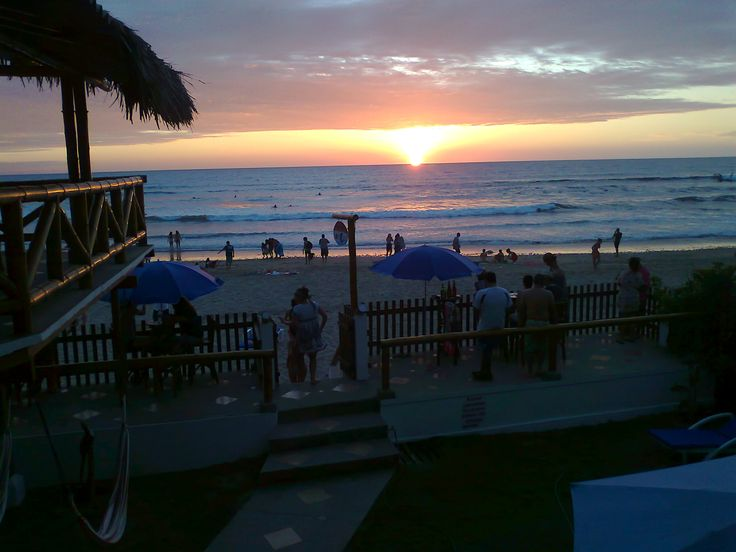 Montañita Ecuador - Hostel Sole Mare Sunset View https://www.facebook.com/HostelSoleMare?ref=hl montanita ecuador