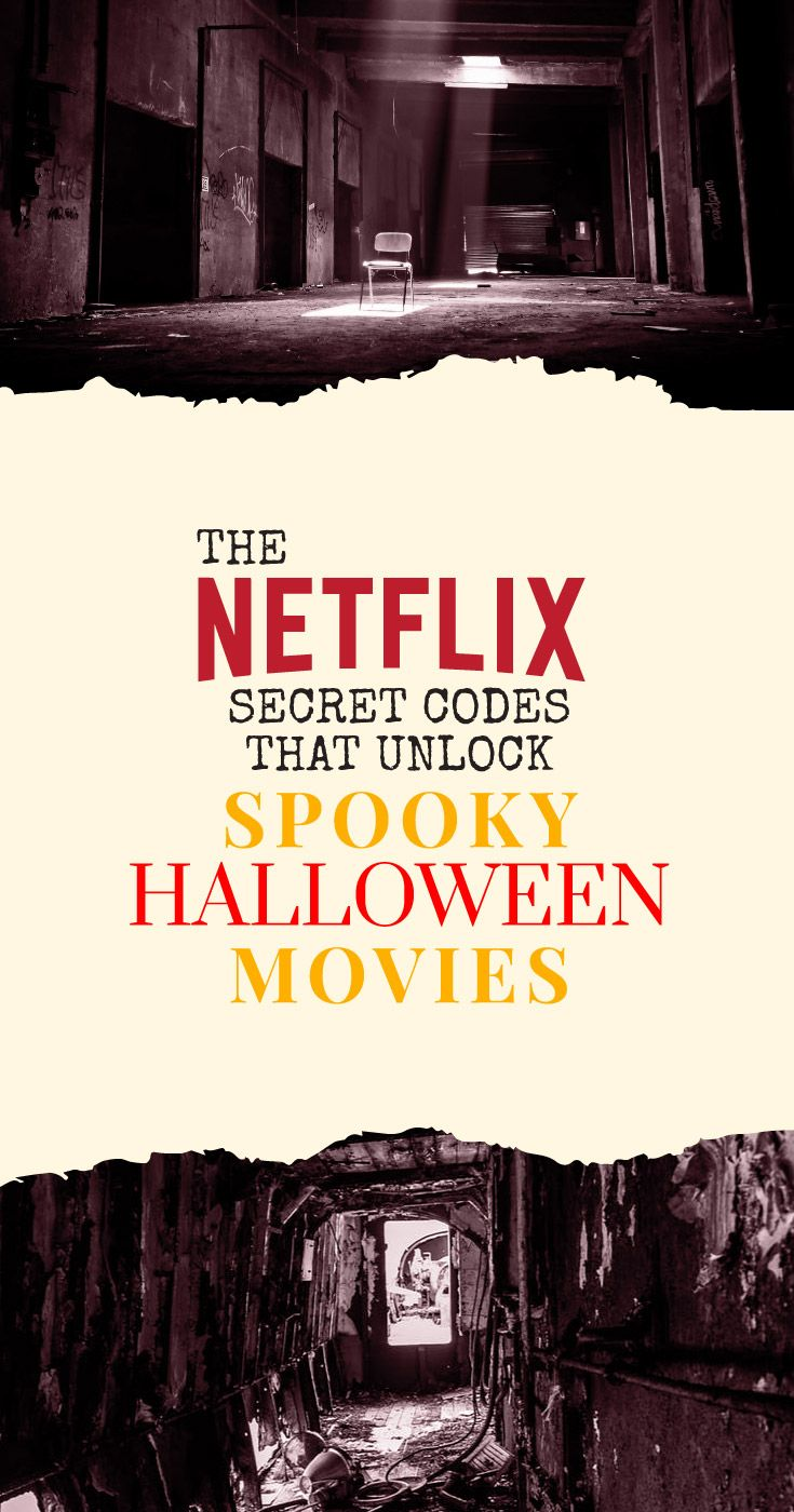 these netflix secret codes unlock awesome halloween movies