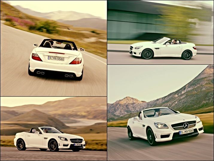 Back with a Bang ! We always thought the SLK lacked soul. Its just found some. With all assists on, the SLK55 is a doddle to drive around.  Starting at price of Rs 1.26 crore. AMGs have sense of class combined with a certain violence.  #motoring #mercedes #AMG #latestcar