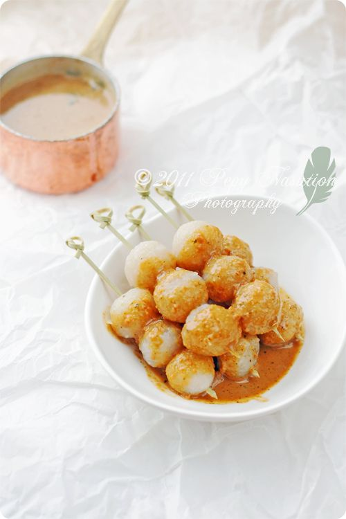 17 best indonesias recipes images on pinterest indonesian cuisine indonesian chewy balls aka cilok a memoir of my childhood snack altavistaventures Image collections