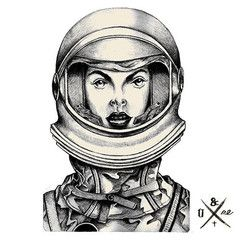 Artwork Tee Intergalactic Lust By Florian