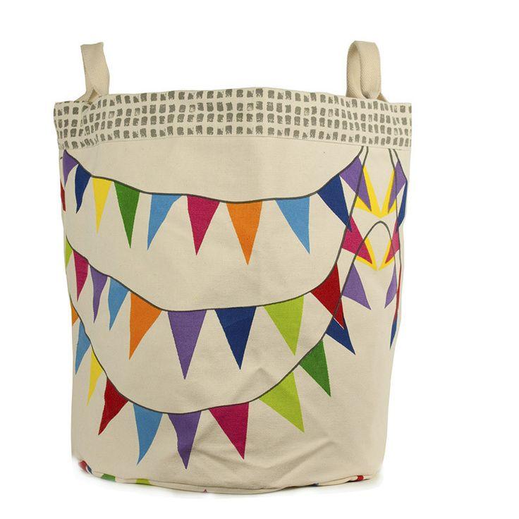 citiesocial – 有機棉 歡樂派對手提收納兩用袋(小)