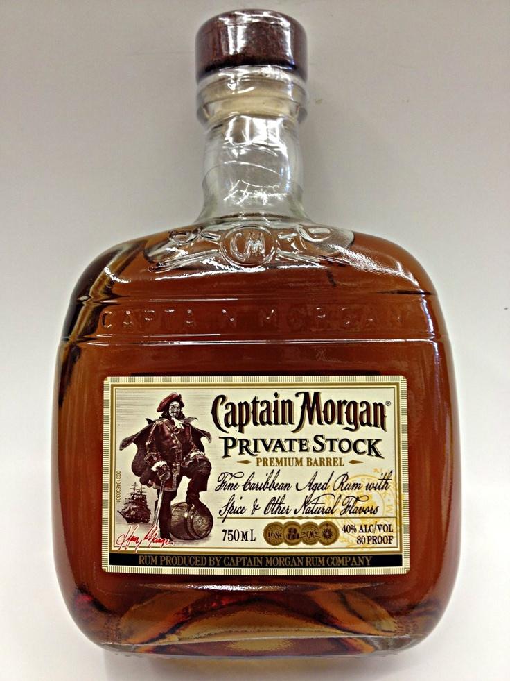 Finally!!!   Captain Morgan Private stock has come to Europe!!!   endelig er den kommet!